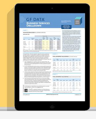 Business Services Drilldown Report