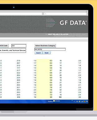GF Data Online Valuation Database