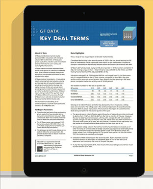 Key Deal Terms Report